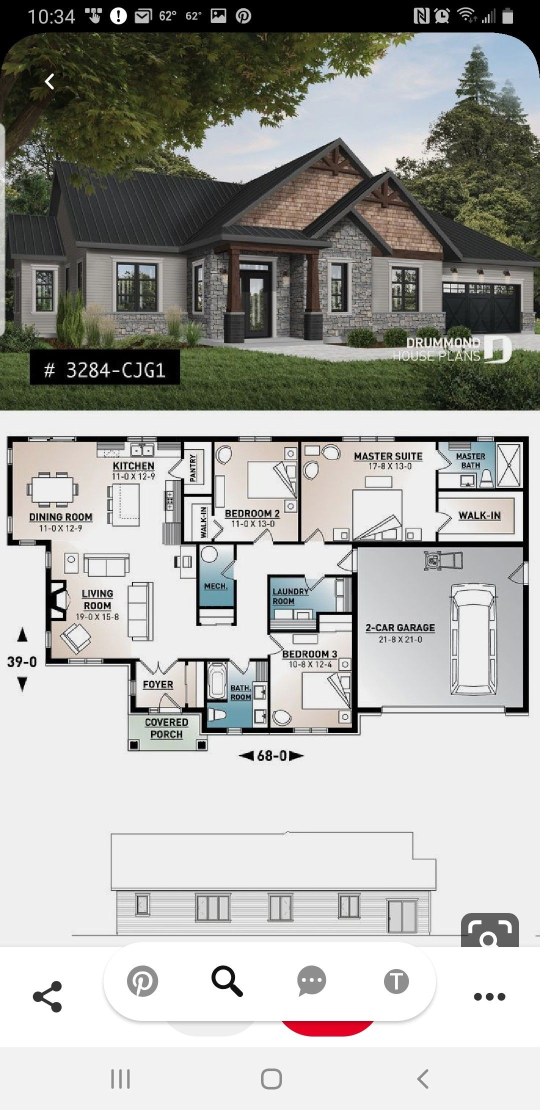 Pin By Eunice Ketang On House Plans House Blueprints House Plans House