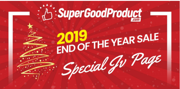 2019 End Of Year Sale & OTO Review by SuperGoodProduct