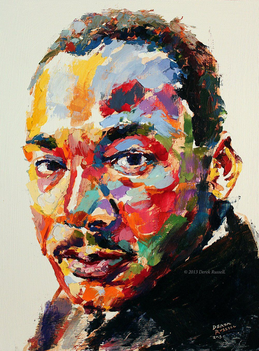 Happy Martin Luther King Jr Day Peace Love Justice Mlk