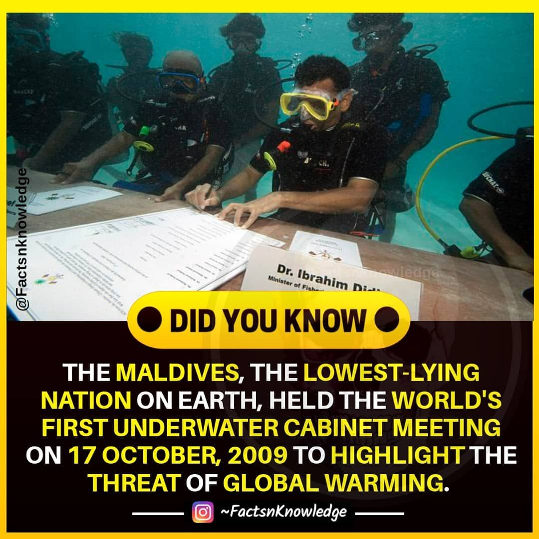 Threat Of Global Warming Follow Factsnknowledge For