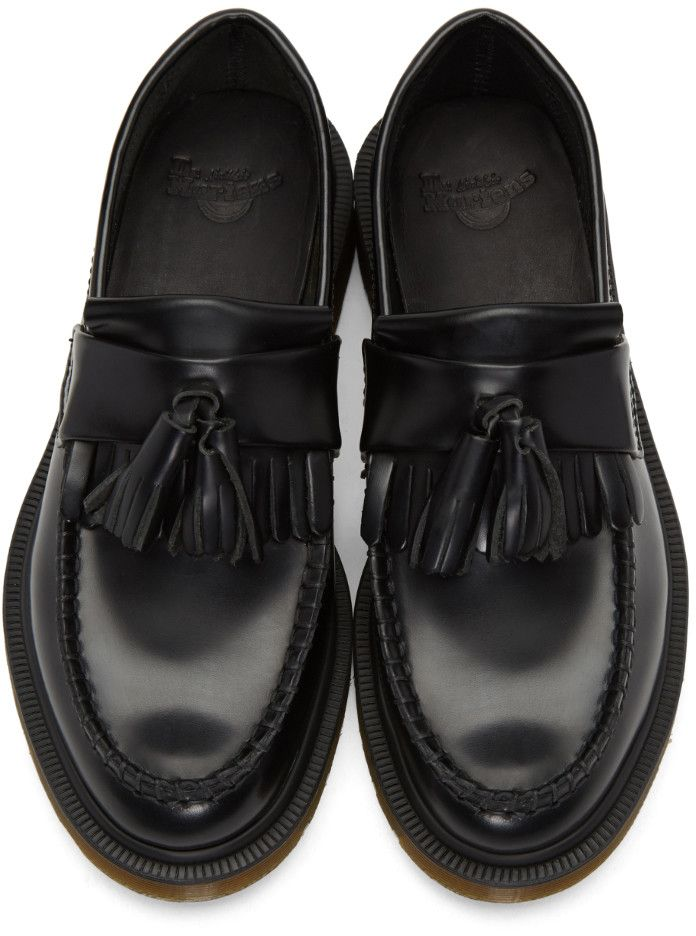 Dr Martens Black Adrian Tassel Loafers Loafers For Women Loafers Formal Shoes