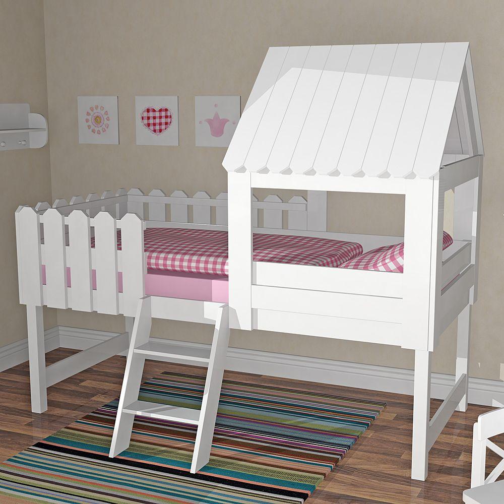 Spielbett BAUMHAUS für kleine Abenteurer, inkl