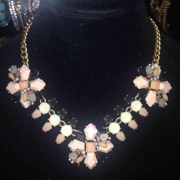 NWT $65 JCREW Beige Nude Black Necklace Statement NWT $65 JCREW Beige Nude Black Necklace J. Crew Jewelry Necklaces