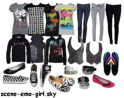 Emo Outfits Scene Emo Clothes G N Ration Scene Queen