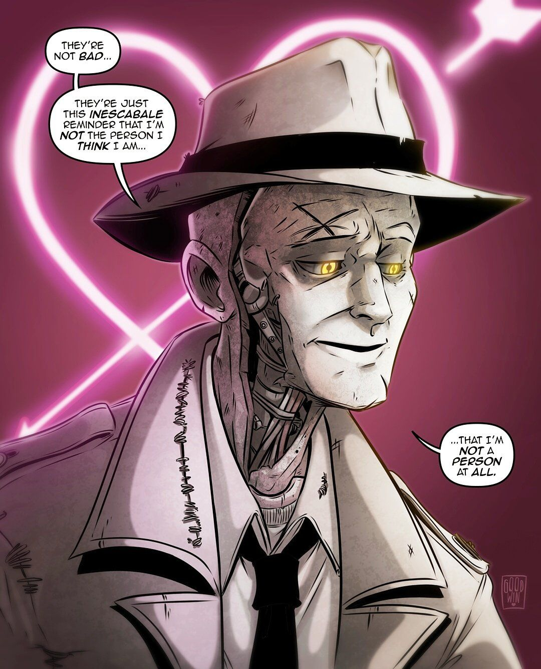 Some Nick Valentine By Mia Goodwin LatestGames
