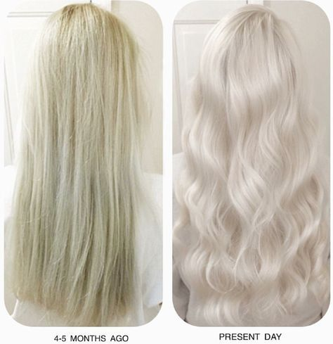 Clear blonde what? Willingly