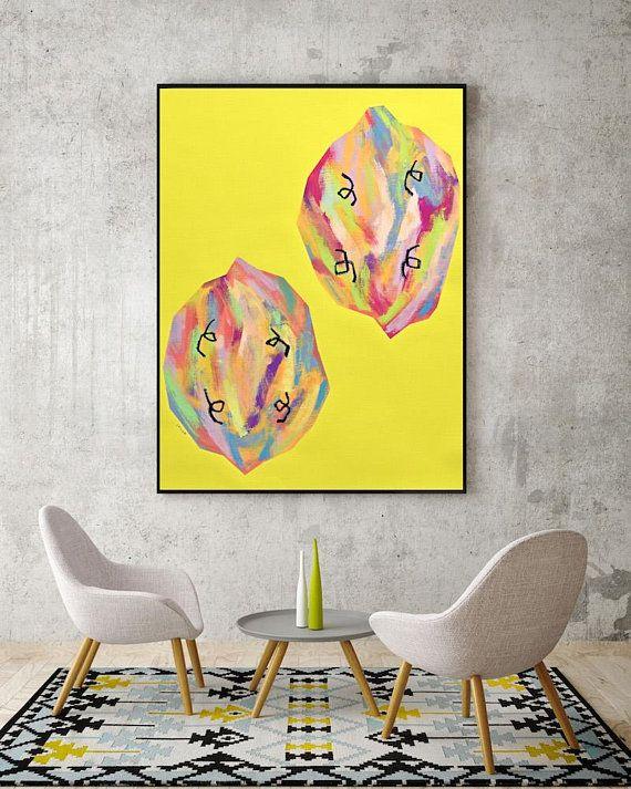 Original Pop Art Colorful Modern Art Original Abstract Painting ...