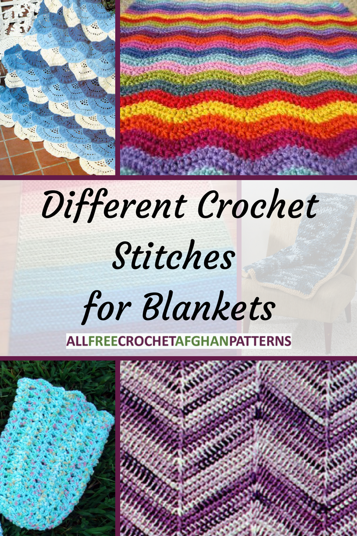 10 Different Crochet Stitches For Blankets Free Blanket Patterns