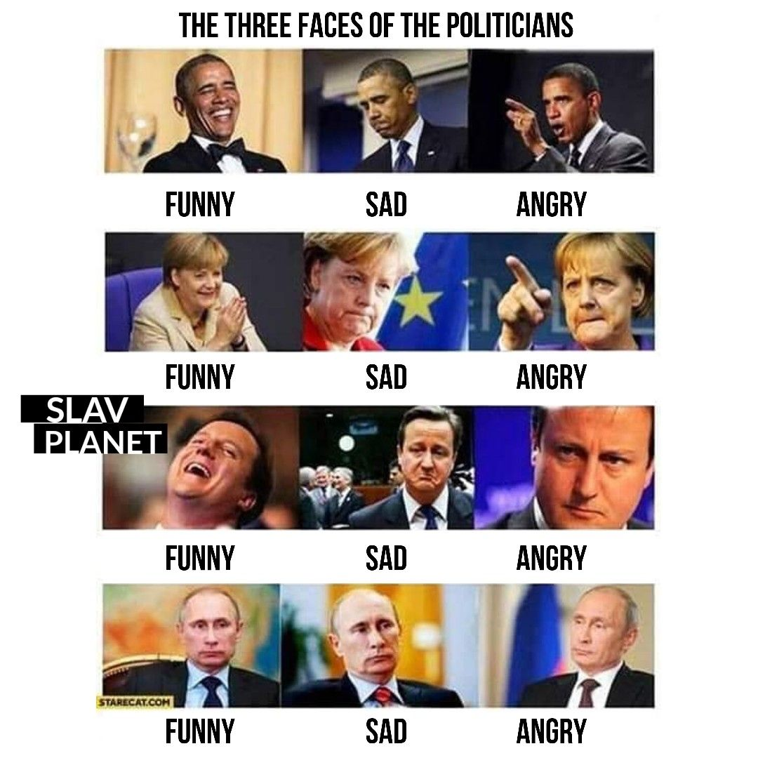 Different Faces Of The Politicians Politicians Funny Memes Funny Jokes