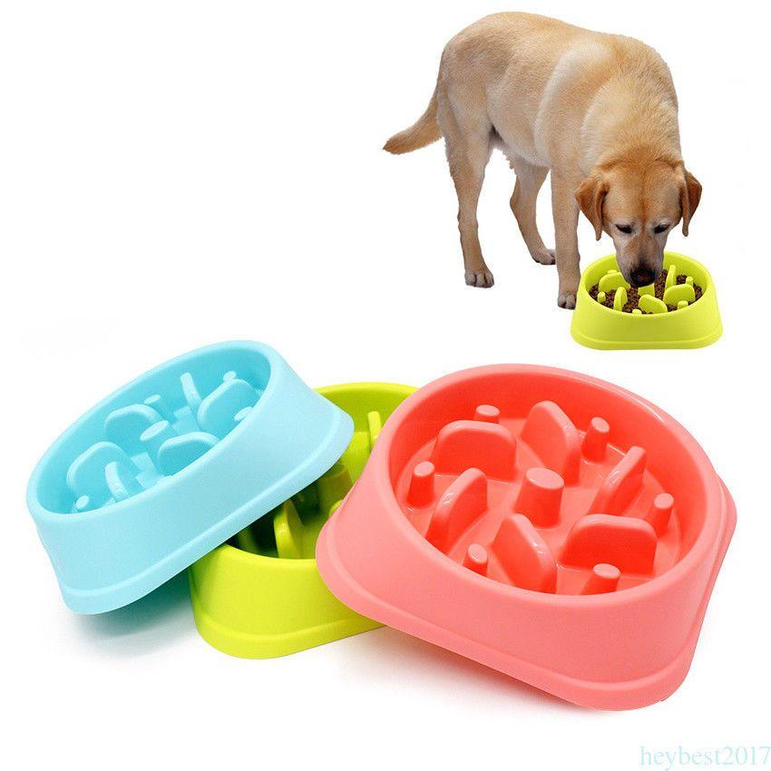 11 35 Aud Dog Pet Feeder Dispenser Anti Skid Food Bowl Cat