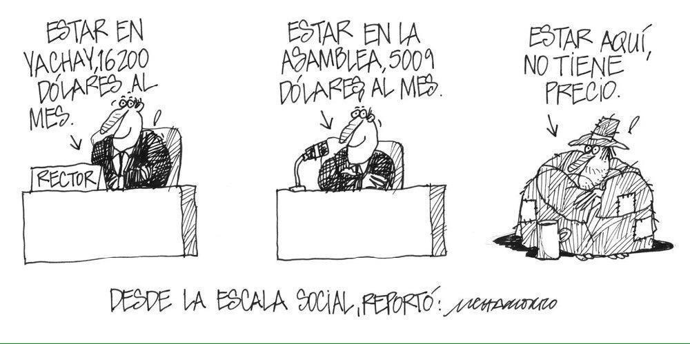 Escala de sueldos en el Ecuador - Chamorro