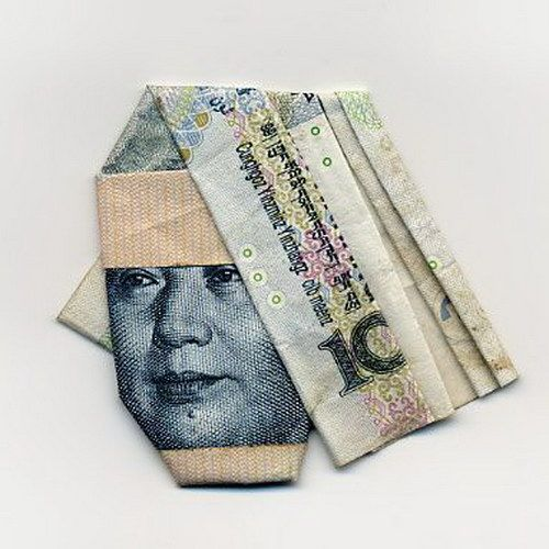Moneygami Origami Out Of Money B Pinterest Origami