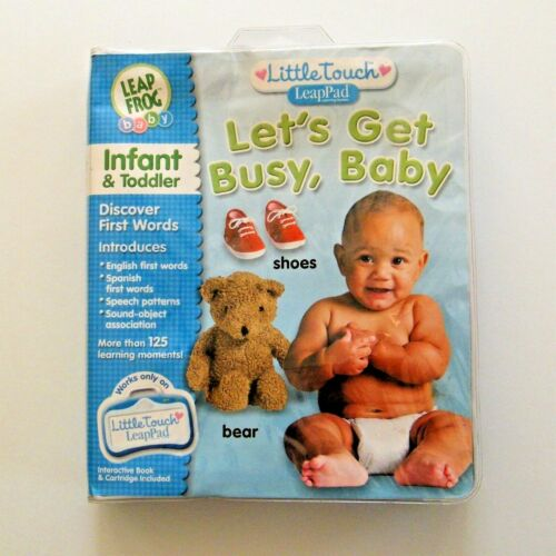 Leap Frog Little Touch Let's Get Busy Baby LeapPad