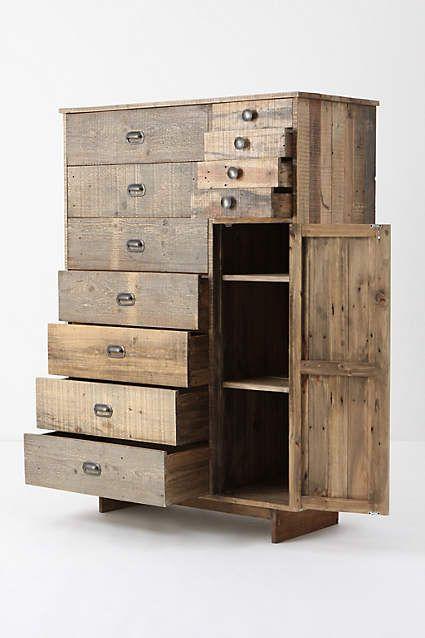 Armoire Eiko - anthropologie recyclab Pinterest Chambres
