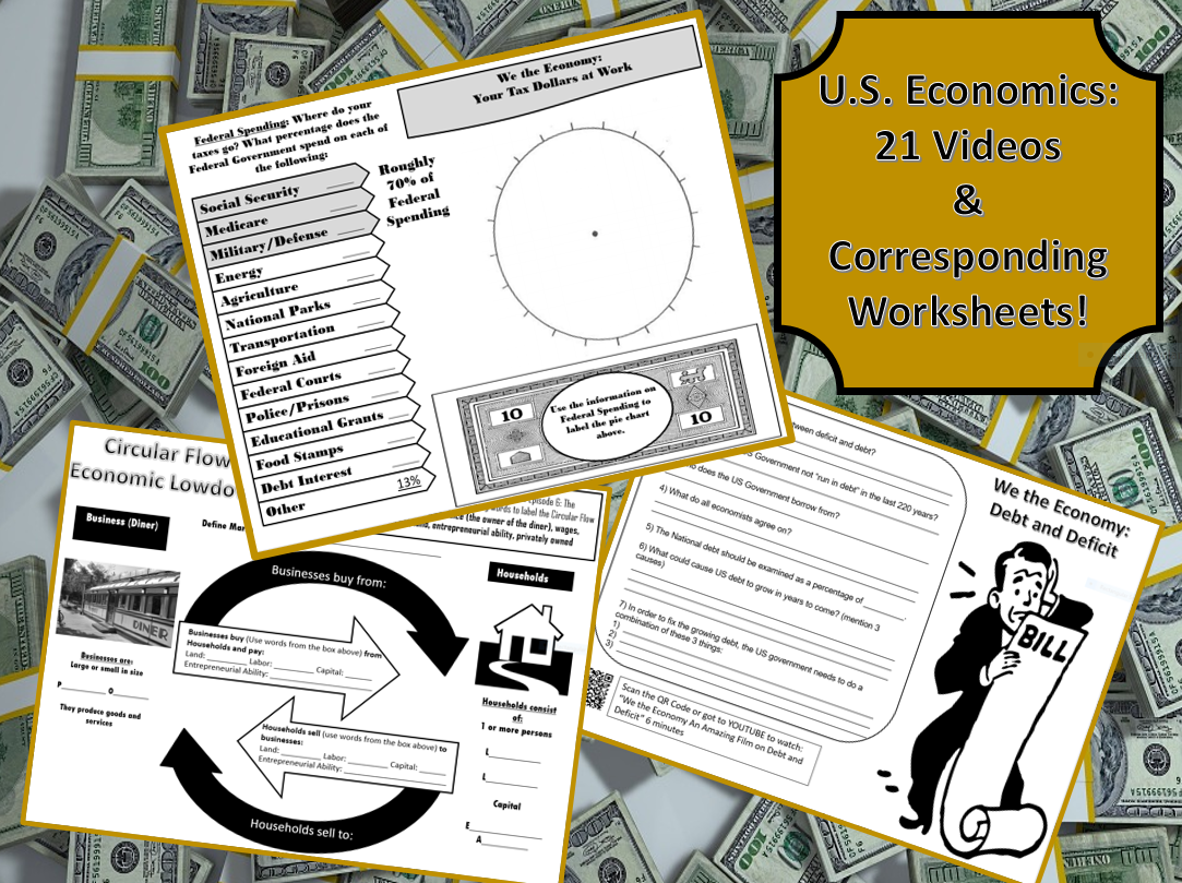 21 Economics Videos With Worksheets Student Activities