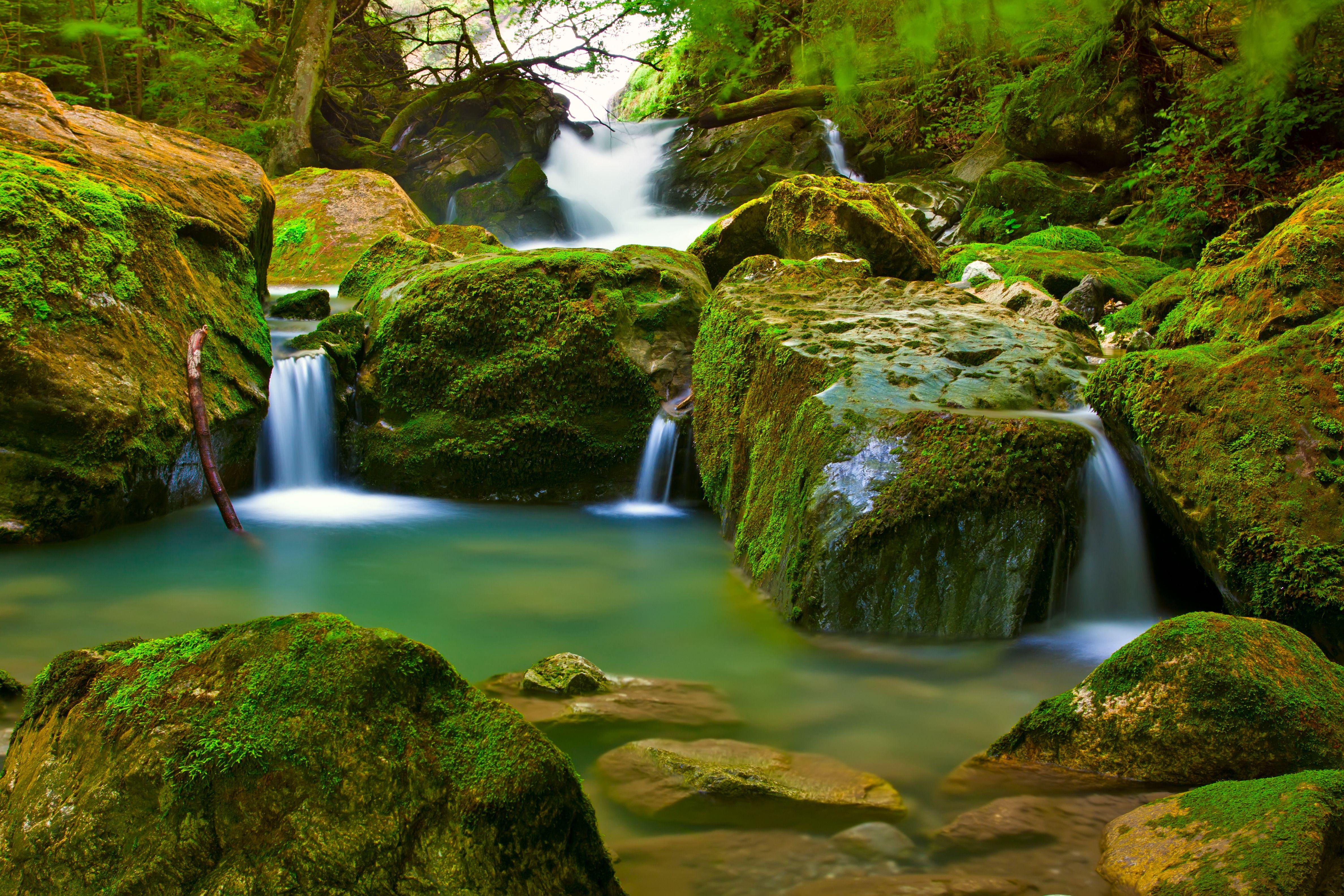 Paisagem cachoeira mozarth11 pinterest cachoeira for Waterfall green design centre