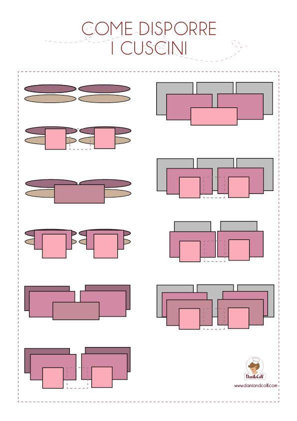 Come Posizionare I Cuscini Sul Letto.Un Free Printable Per Decidere Come Disporre I Cuscini Sul Letto