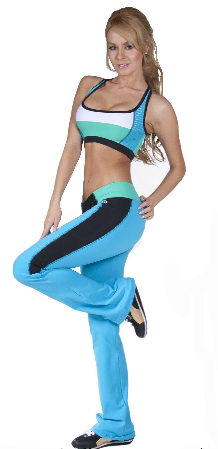 b9113fc87fb4 Tiempo Libre Set  Bra Top  amp  Pants Sexy Workout Clothes