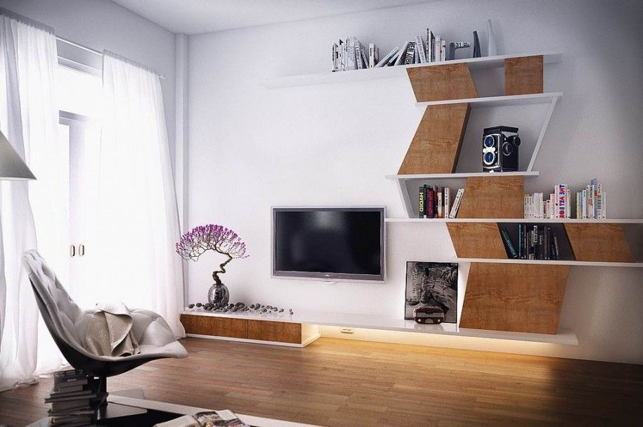 Merveilleux 18 Trendy TV Wall Units For Your Modern Living Room