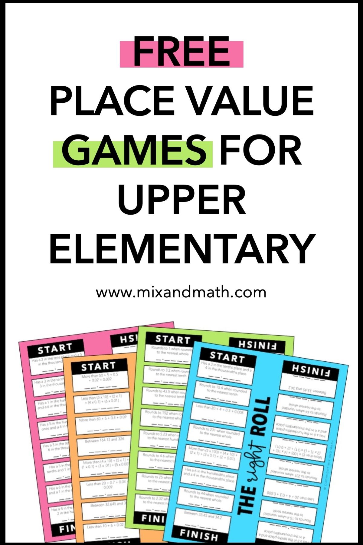 Place Value Dice Games That Your Students Will Beg To Play