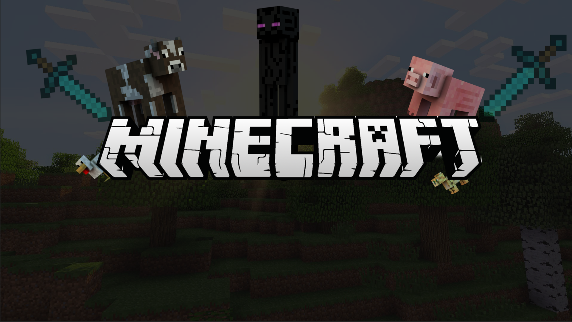 Minecraft 2048 Pixels Wide And