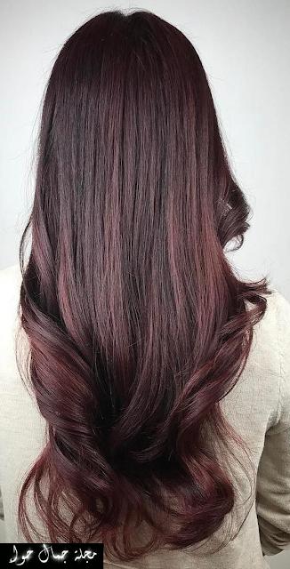 الوان صبغات الشعر للبشرة السمراء احدث صبغات الشعر للبشره السمراء 2017 ماهو لون الشعر المناسب للبشرة السمر Colored Curly Hair Hair Styles Red Brown Hair Color