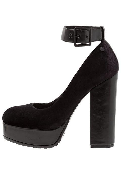 chaussure boots noir Tata Italia Escarpins à talons hauts
