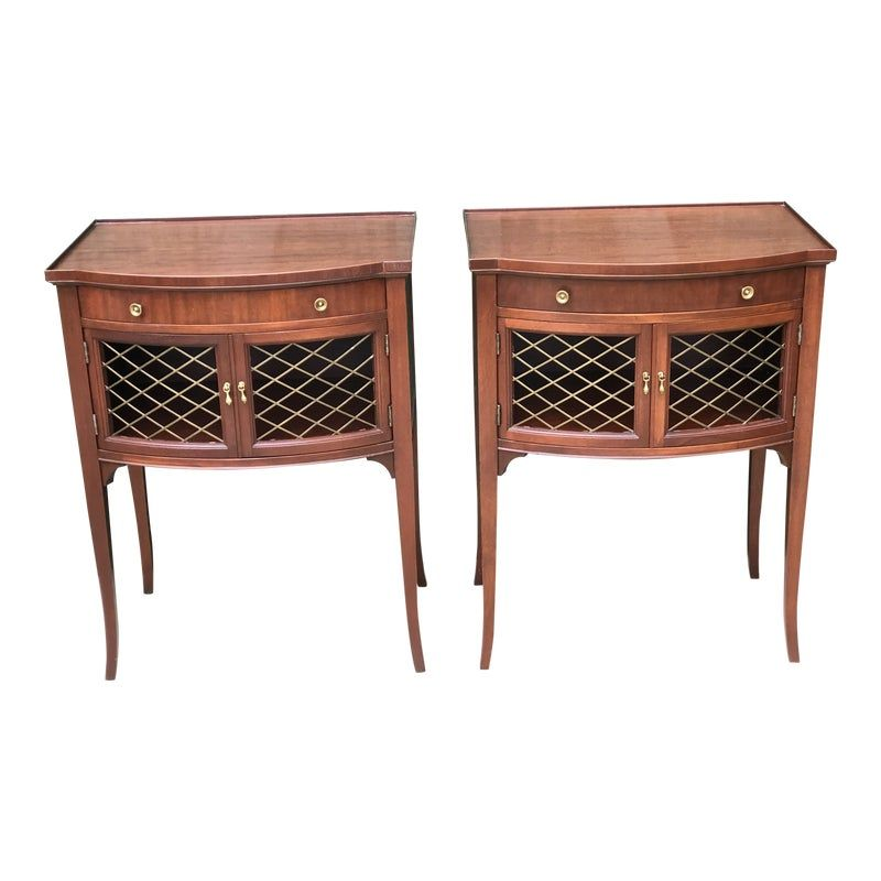 Imperial Mahogany One Drawer End Tables