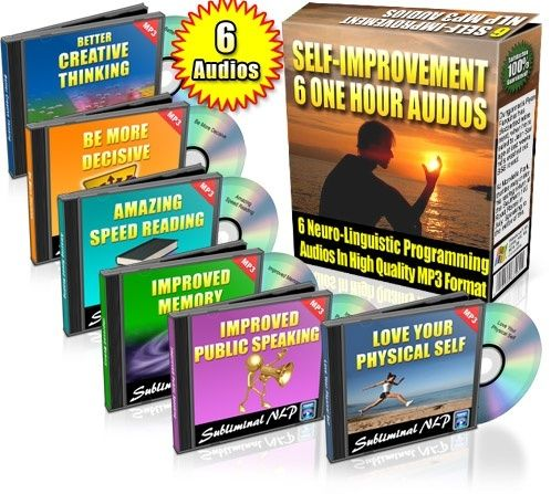 Six Subliminal NLP Self-Improvement Audios products-i-love personal-development