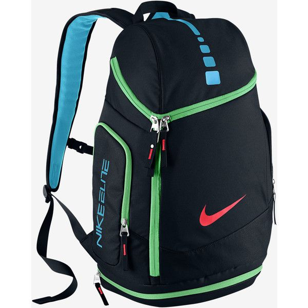 Nike Hoops Elite Max Air Team Backpack. Nike.com ( 80) ❤ liked on Polyvore  featuring bags 3c42ade904ef5
