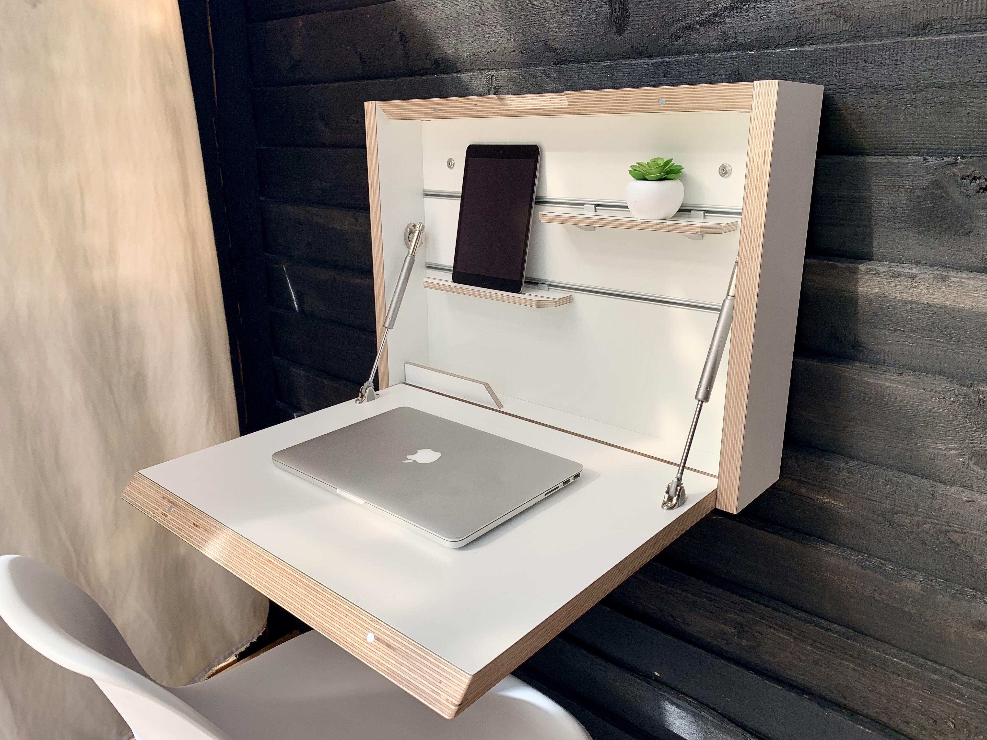 Small Folding Desk Space Saving Desk Office Desk Secretary Desk