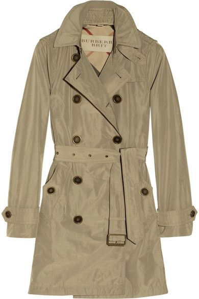 ff4512789b414 hooded packaway trench coat   burberry brit