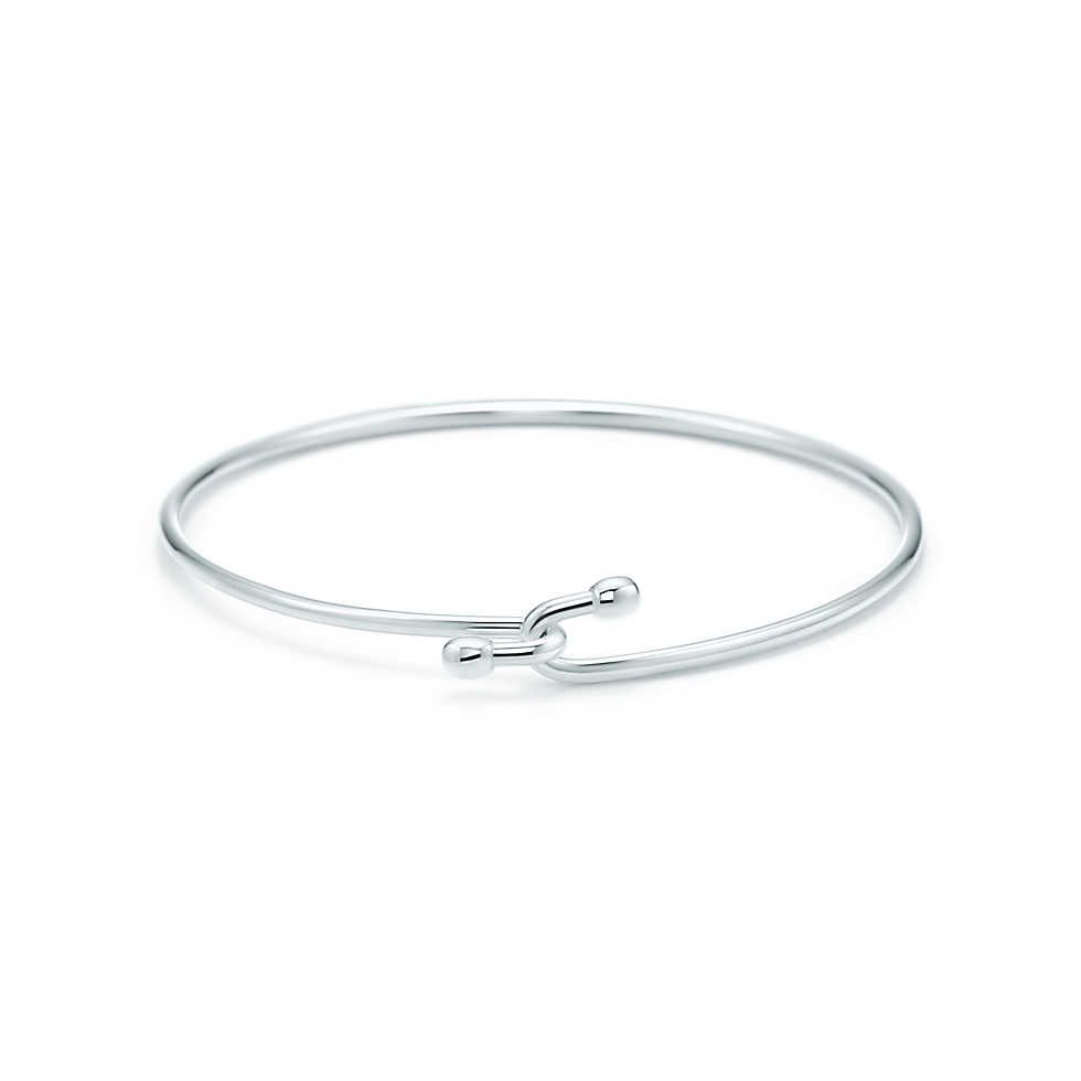 Wire bracelet in sterling silver, small. | Tiffany & Co.