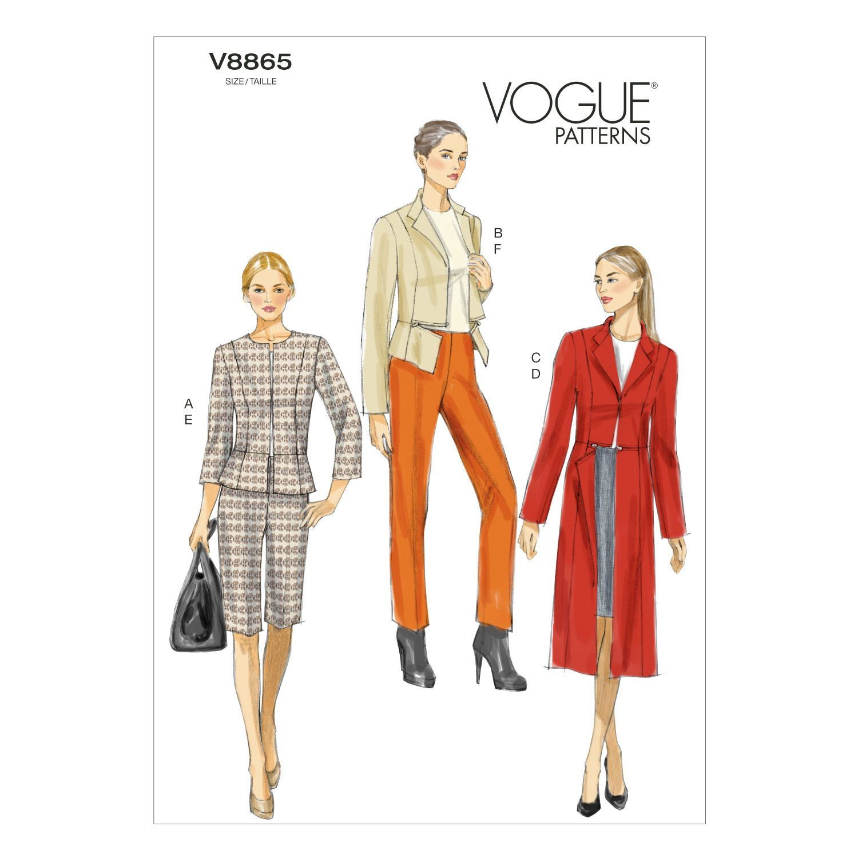 Mccall Pattern V8865 14-16-18-2-Vogue Pattern | Products | Pinterest