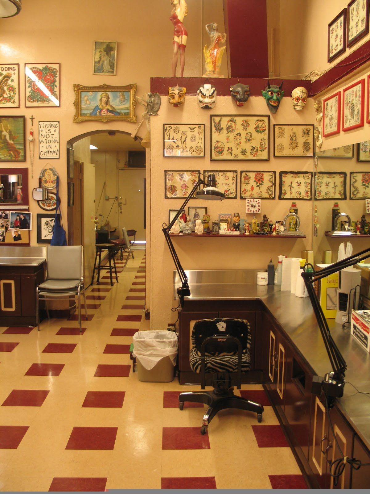 Tattoo Shop Design Ideas: Tattoo Studio, Tattoo Studio Interior, Tattoo