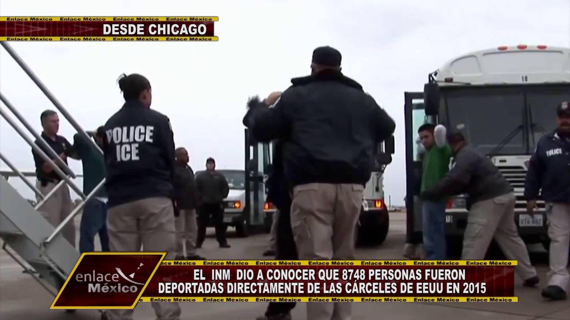 MÁS DE 55 MIL MEXICANOS DEPORTADOS DE EE.UU. EN 2015