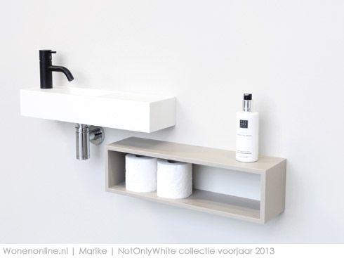Loop  Axis baden Toilette, Salle de bains et Salle - Porte Serviette A Poser