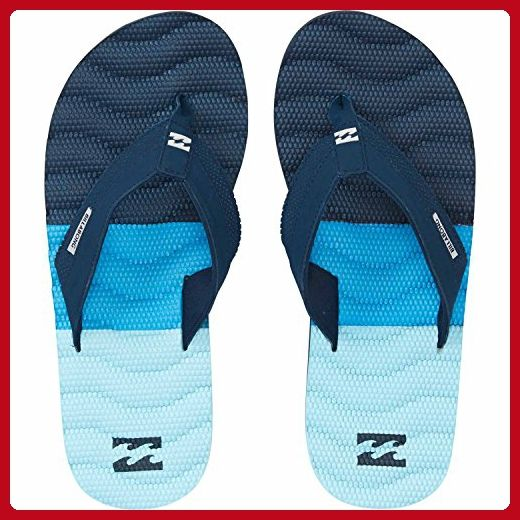 ccc8d81e4868f Billabong Men's Dunes Tribong Non Slip Sandal Flip Flop, Blue, 10 US ...