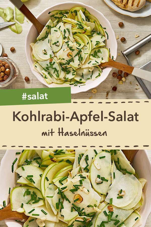 Kohlrabi-Apfel-Salat #healthycrockpotchickenrecipes