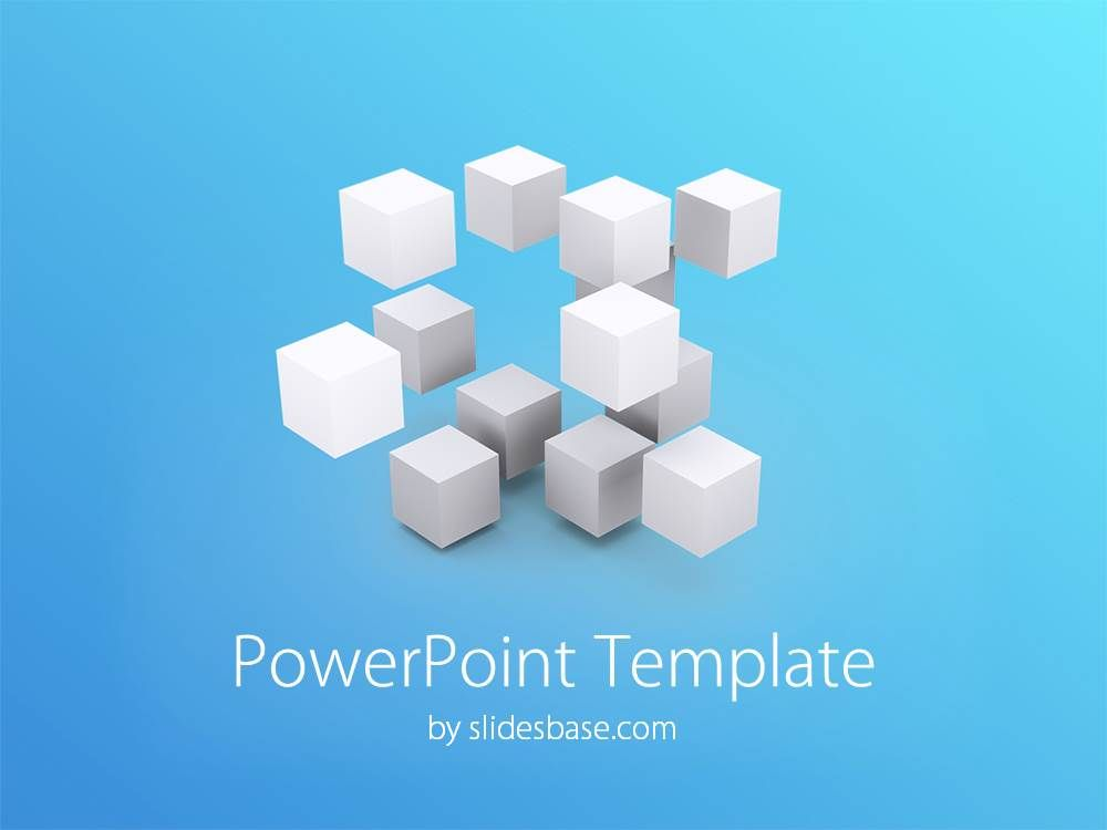 3D-white-blue-cubes-rectangles-engineering-ideas-thinking-powerpoint ...
