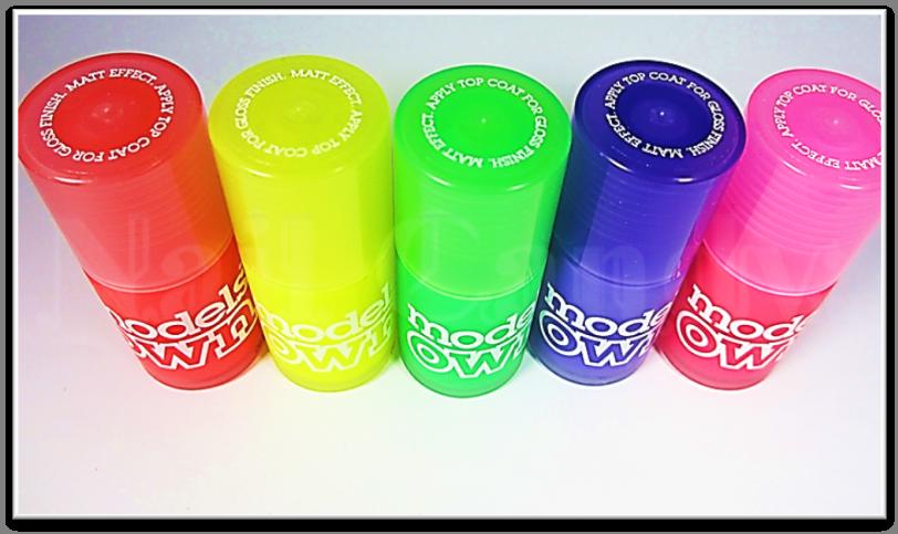 Models Own Ice Neon nail polish collection | Nail inspirations ...