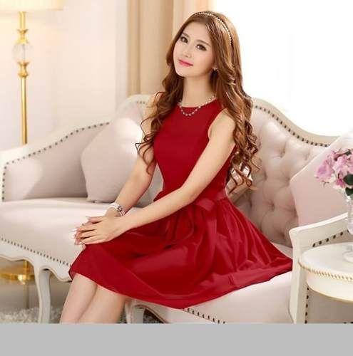 3f002c7fc vestido de fiesta corto moda japonesa coreana 1576