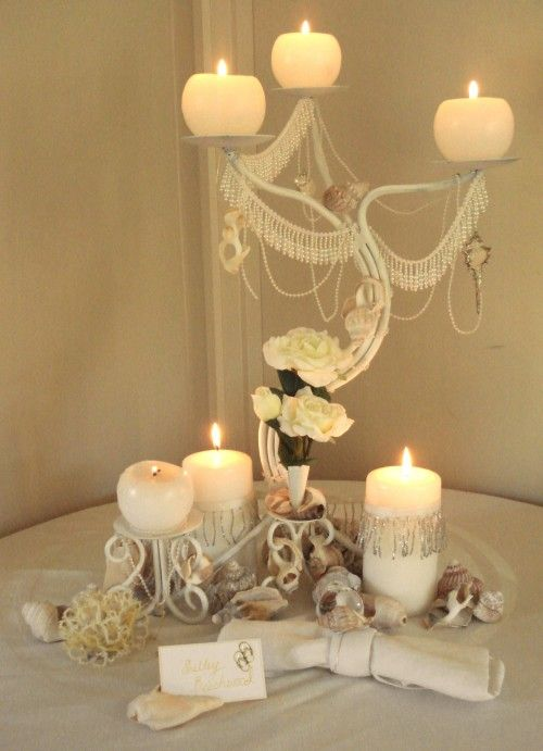Make A Fancy Candelabra Centerpiece For Under Fiver