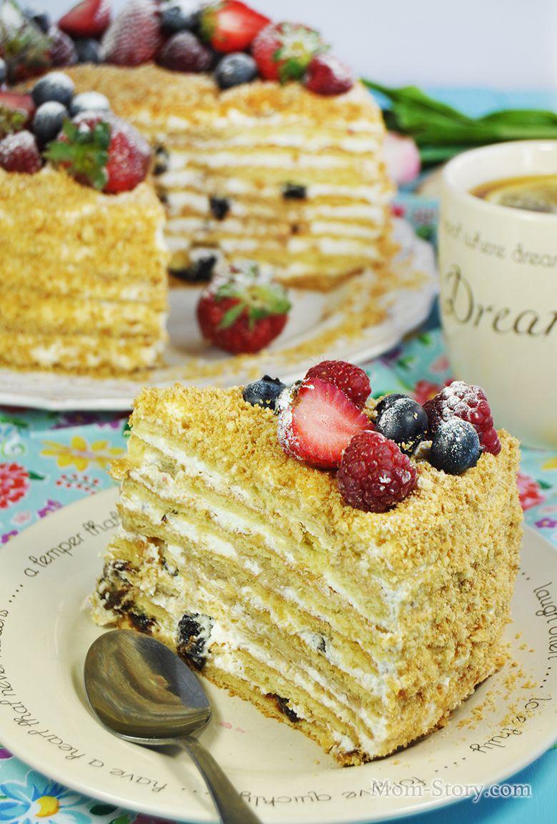 Торт сметанный (82 рецепта с фото) - рецепты с фотографиями на Поварёнок. ру 10