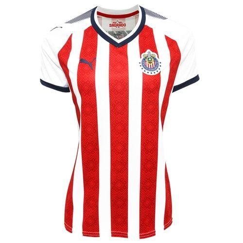 d4b71c77c1b PUMA Women s Chivas De Guadalajara 17 18 Home Jersey Red