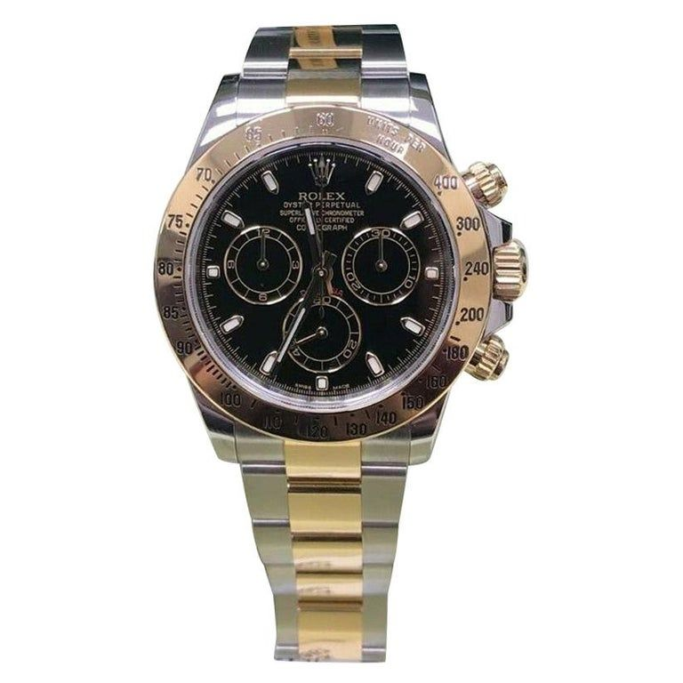 Rolex - Daytona 116523 18 Karat Dial Box Paper 2014 18K Gold, Yellow Gold, Stainless Steel #rolexdaytona