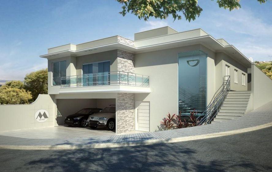 Fotos de fachadas de casas esquineras modernas 41