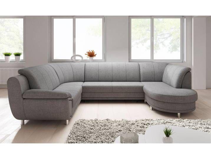 Trendmanufaktur Wohnlandschaft Ohne Bettfunktion Grau Komfortabler F My Room Living Room Decor Home