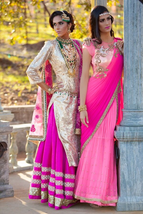 The Look of Luxury by SKM Artistry | Saree Central | Pinterest