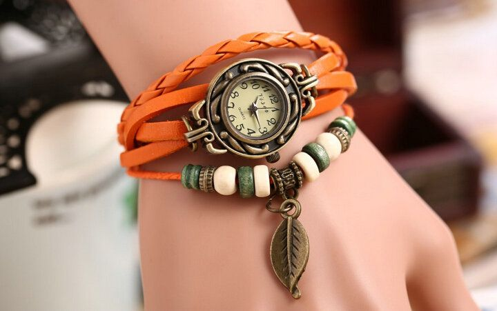 vintage leather watch wholesale